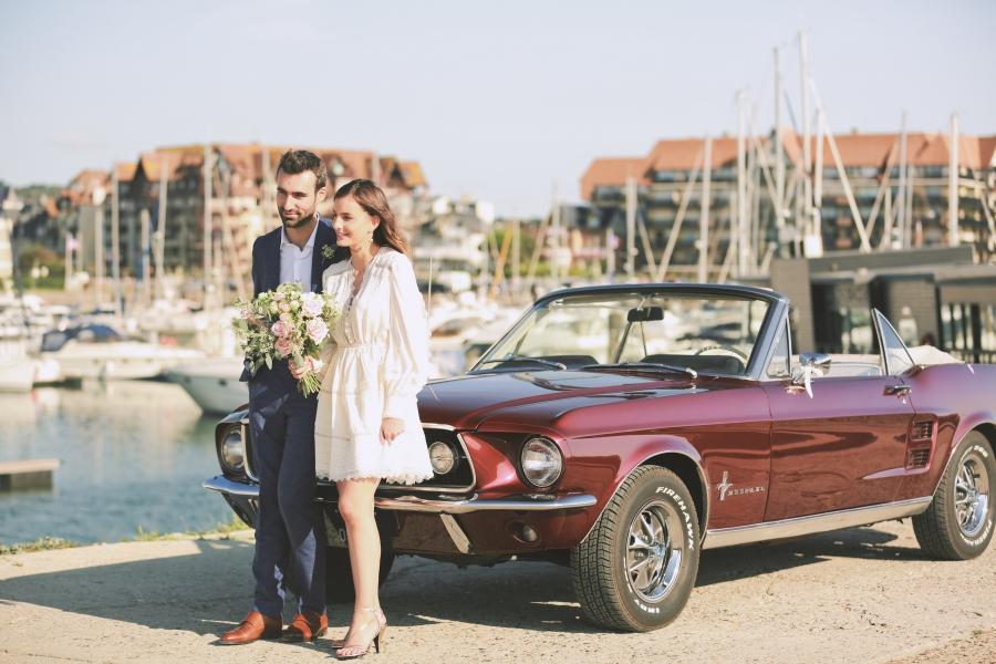 meilleur photographe de mariage à Deauville