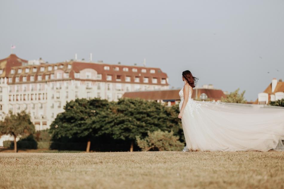Shooting photo mariage Deauville - Greg Lebrun