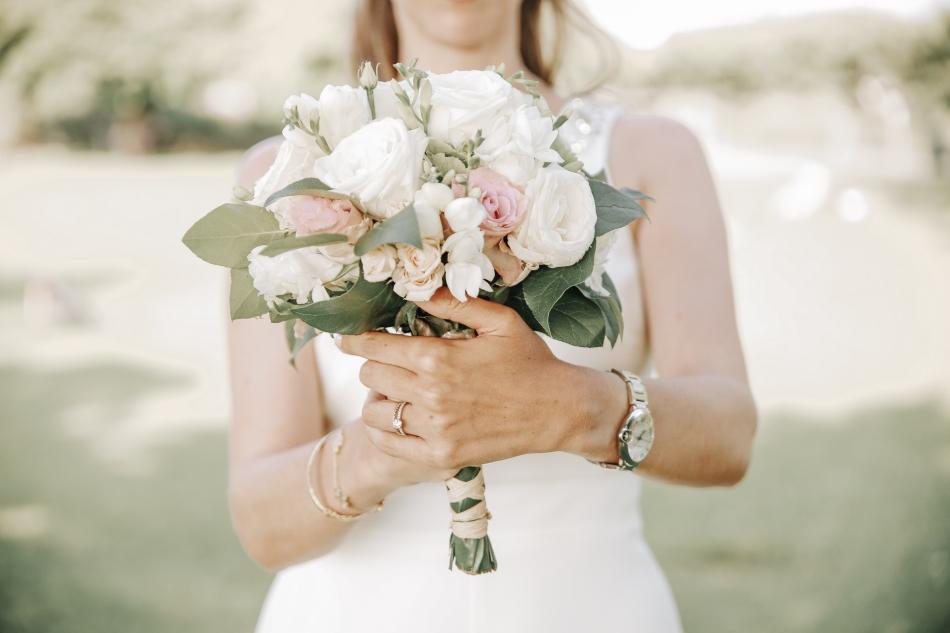 bouquet de fleurs mariage deauville